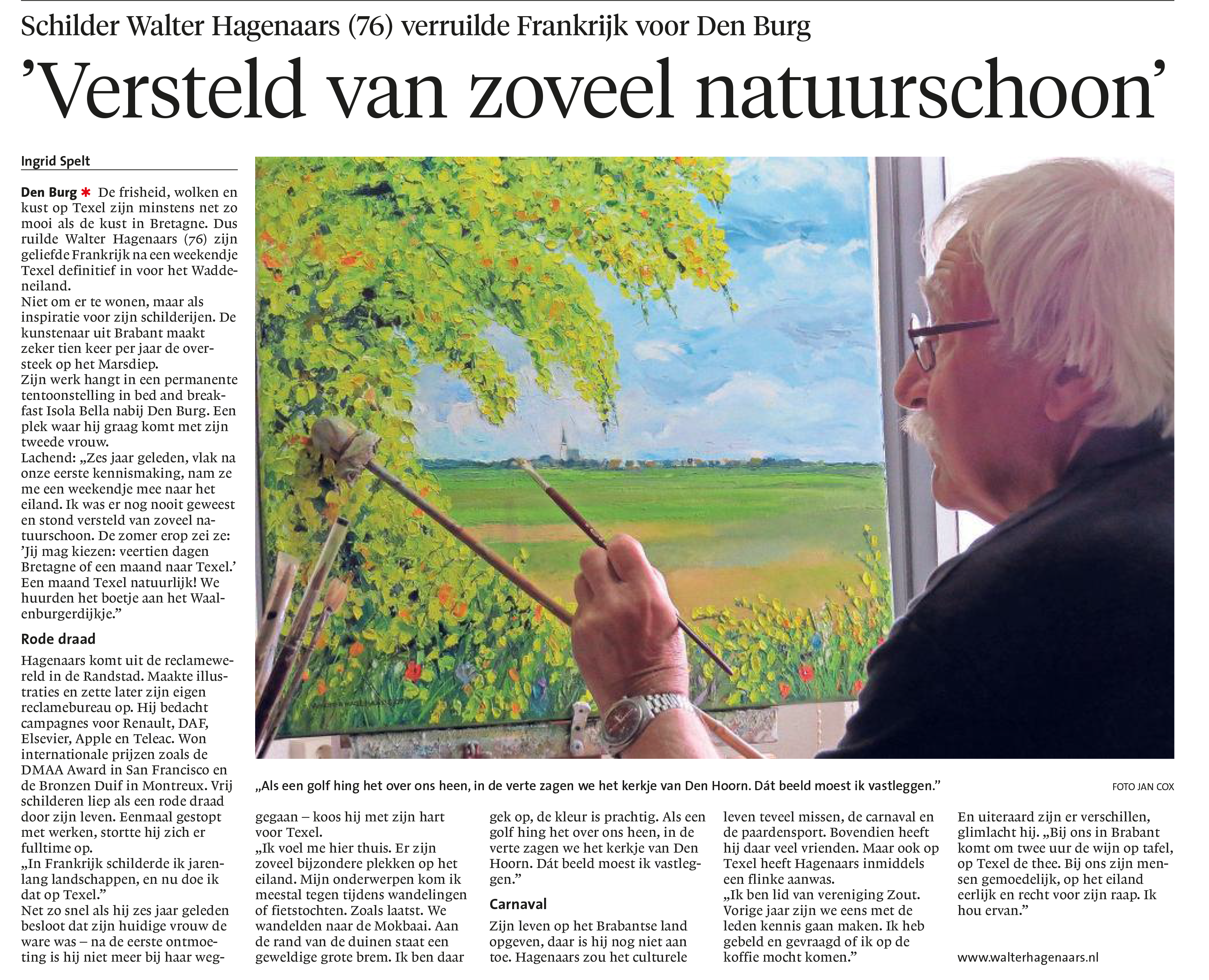 artikel Noord Hollands Dagblad